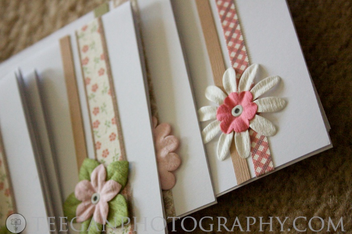 DIYhow to decorate blank notecardsLemon and Raspberry Amy