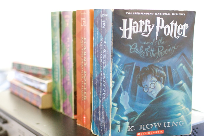 a seed of inspiration : Harry Potter book series – Lemon and