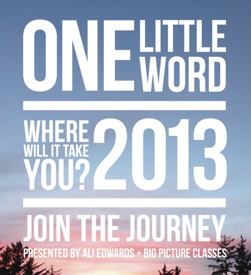 One Little Word 2013