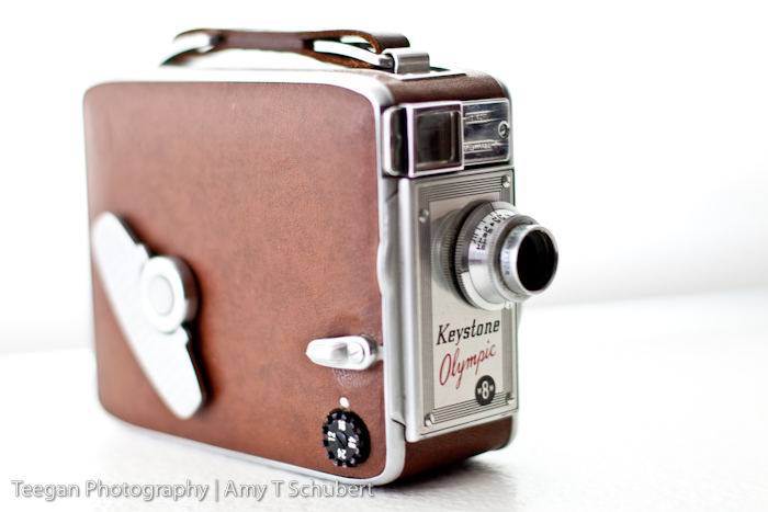 Keystone 8mm movie camera / Shinola watch quality