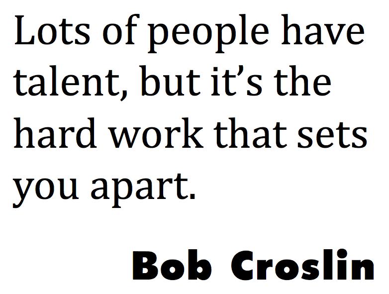 bob croslin quote