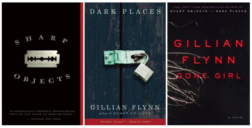 Gillian Flynn 3 books