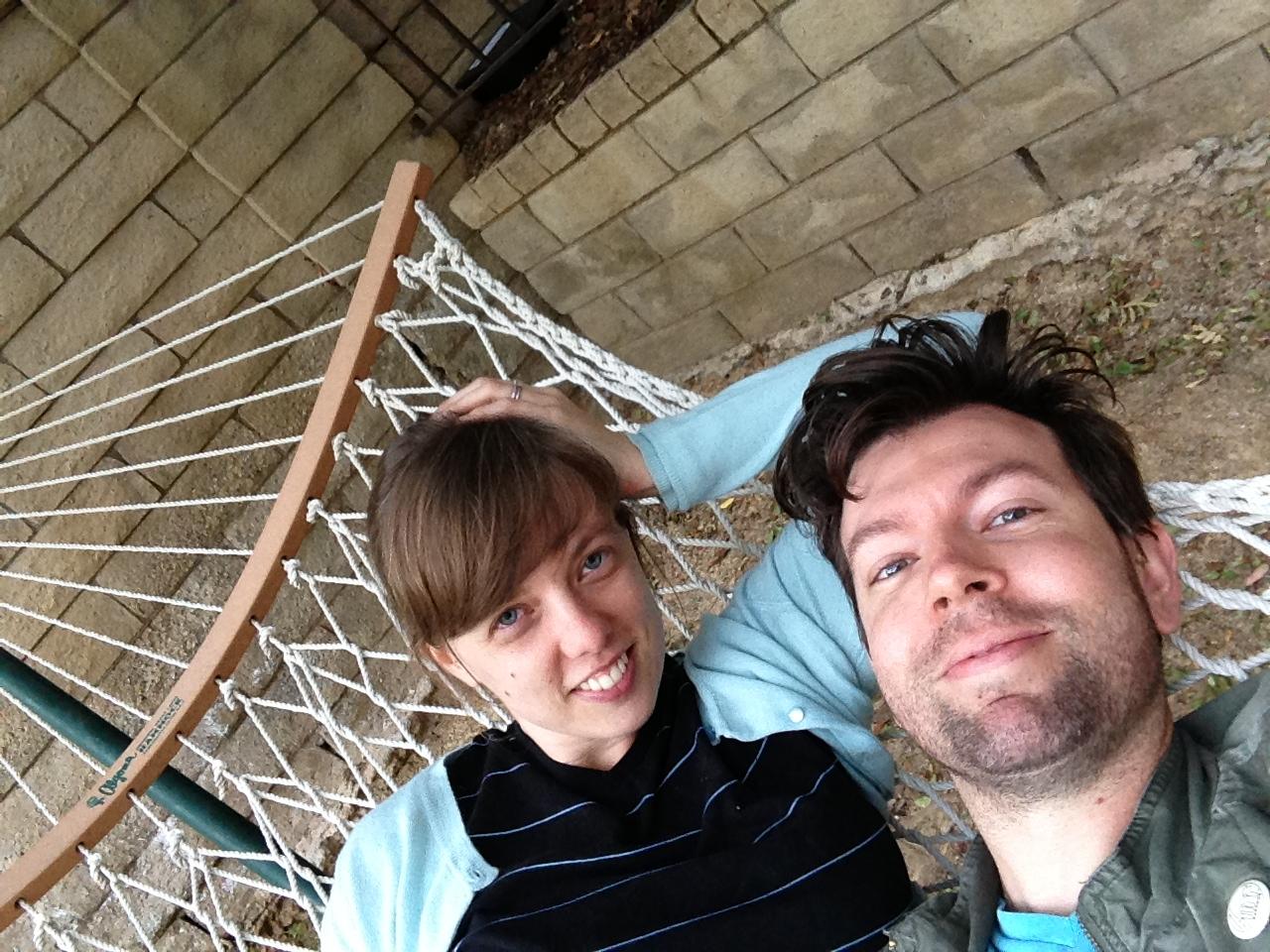 we got a hammock!