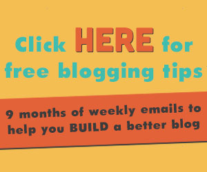 9 months of free blogging tips