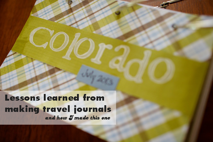 travel journal Colorado  header
