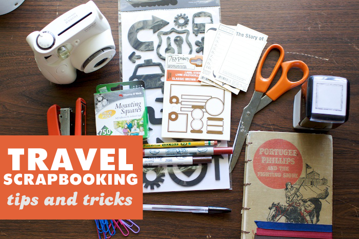 travel scrapbooking tips from Lemon and Raspberry