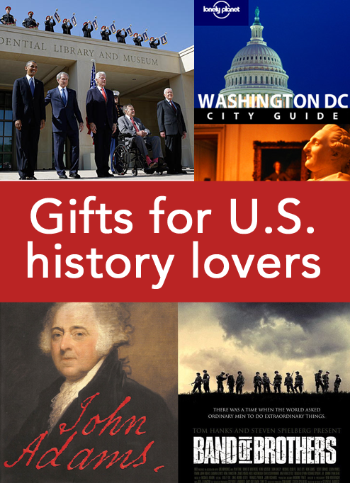 gift guide for history lovers