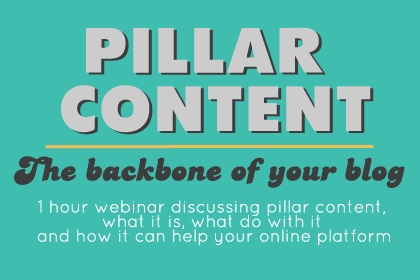 pillar content webinar