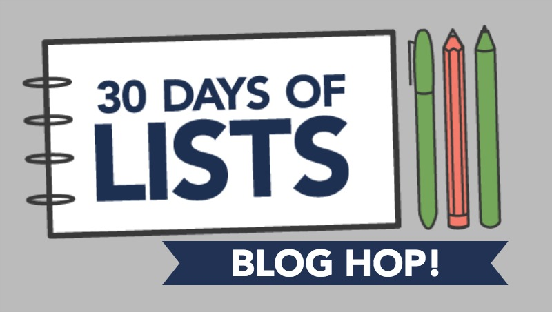 m15 30lists blog hop